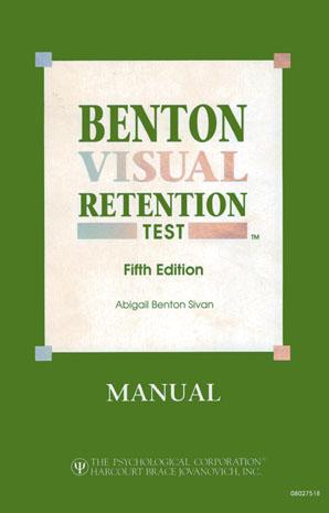 Benton Visual Retention Test - BVRT