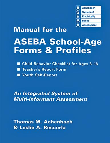 manual for the ASEBA school-age